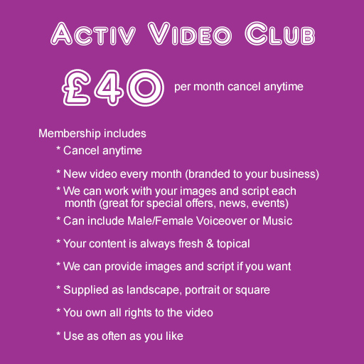 Video Club Membership